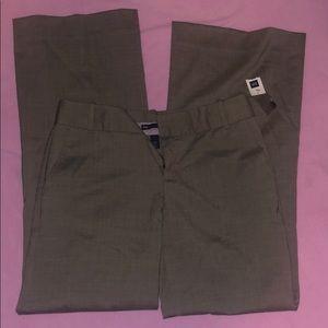 GAP brown slacks